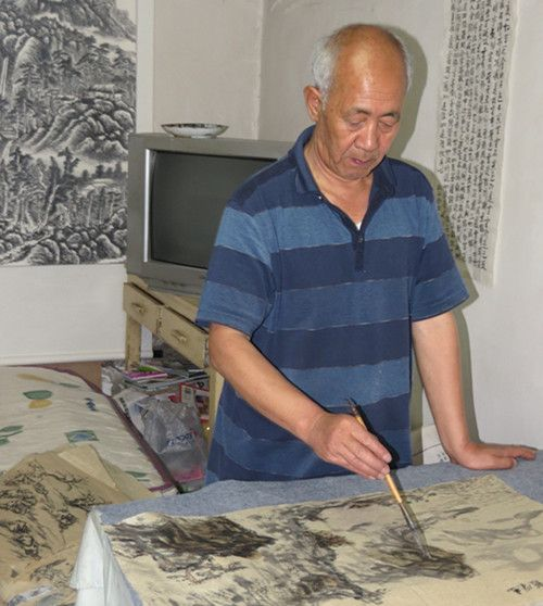 金连仓--中国书画研究院院士