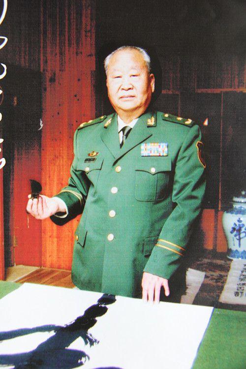 何虎--中国将军部长书画院副院长