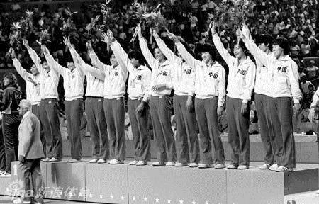"""老照片回顾""""女排精神"""":从1981到2016"""