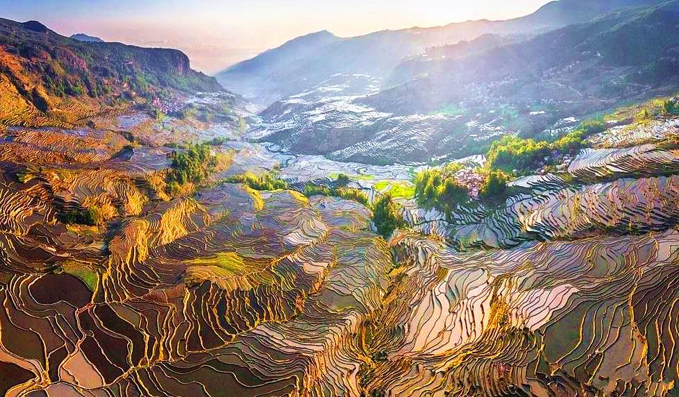 上帝视角看中国令人惊艳 网友:美到想唱国歌
