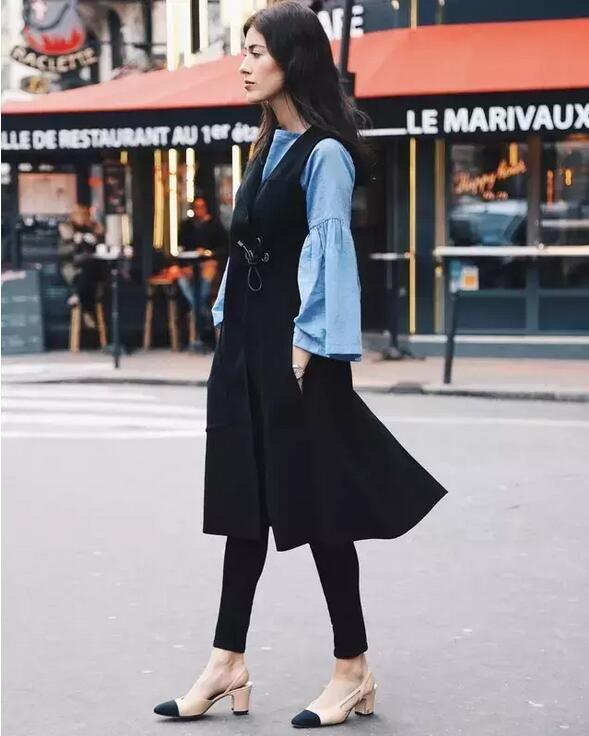 只会穿阔腿裤?别OUT了!裙子+裤子才最时髦!
