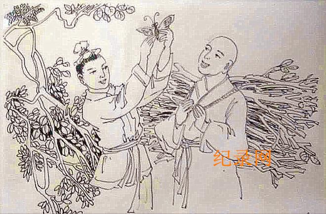 兰州书画家魏孔连连环画--赌输赢