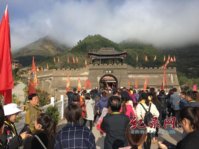 甘青宁150家旅行社赴宝鸡市大水川国际旅游度假区踩线活动举行