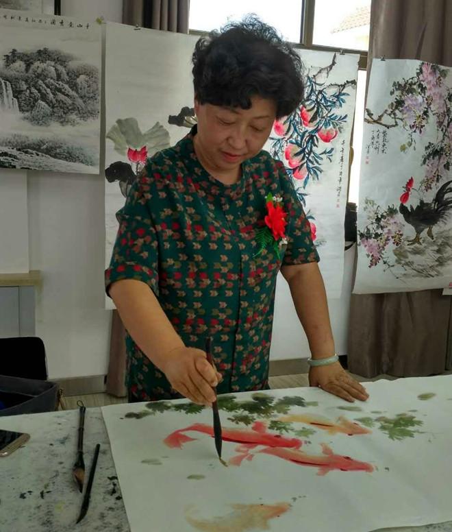 薛景惠--甘肃省美术家协会会员