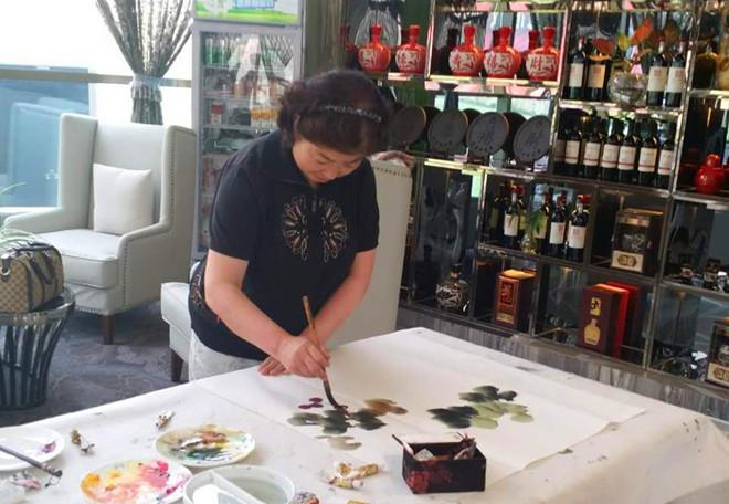 张映兰--甘肃省美术家协会会员