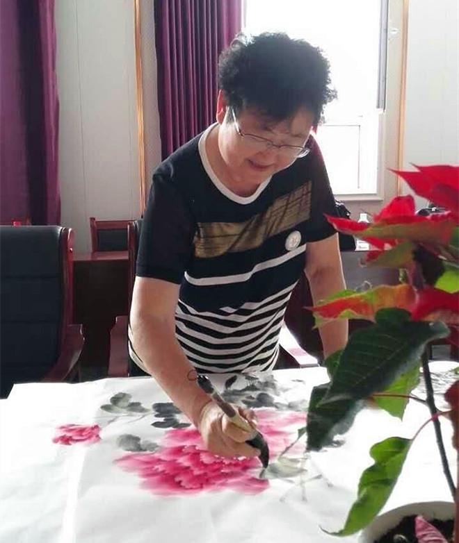 阎淑敏--甘肃省美术家协会会员