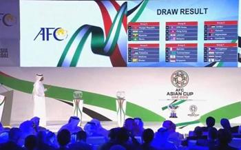 2019年亚洲杯举办时间确定 亚洲前五为种子球队