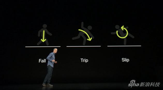 """苹果根据摔跤的""""常规""""习惯,判断严重性"""