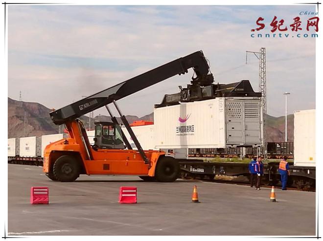 """600吨""""海鲜、南果 """"抵兰州丰富中秋国庆双节市场"""