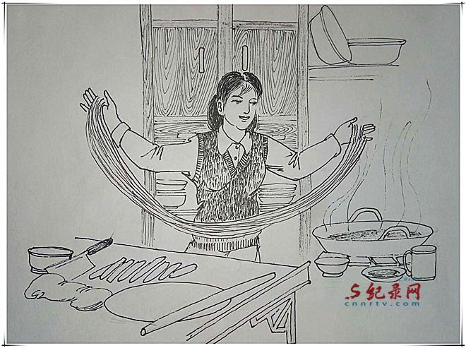 魏孔连系列连环画—兰州方言(新春寄语)之一