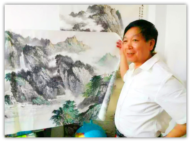 何建--甘肃省美术家协会会员