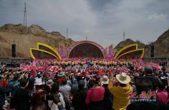 桃花迎春 约会兰州 第三十六届兰州桃花旅游节开幕