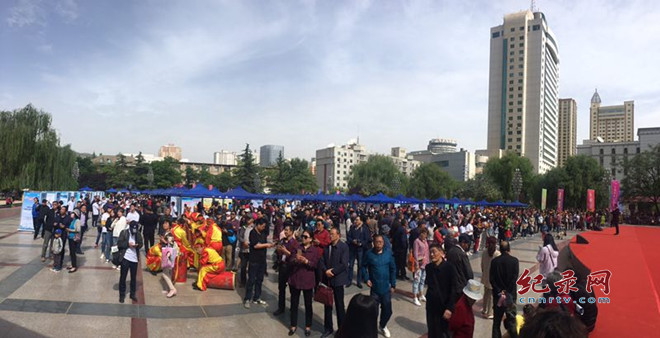 2019年中国旅游日甘肃省分会场举行丰富多彩的主题宣传活动