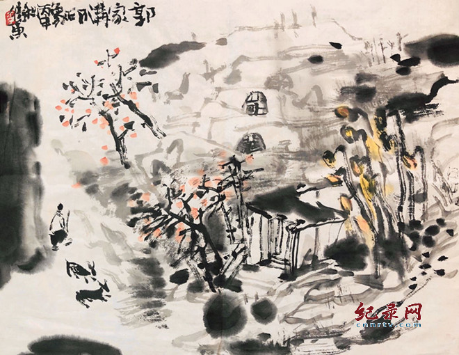 兰州市美术家协会副主席李卫东绘画艺术——山水