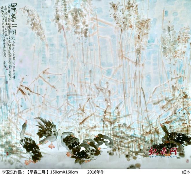兰州市美术家协会副主席李卫东绘画艺术—花鸟