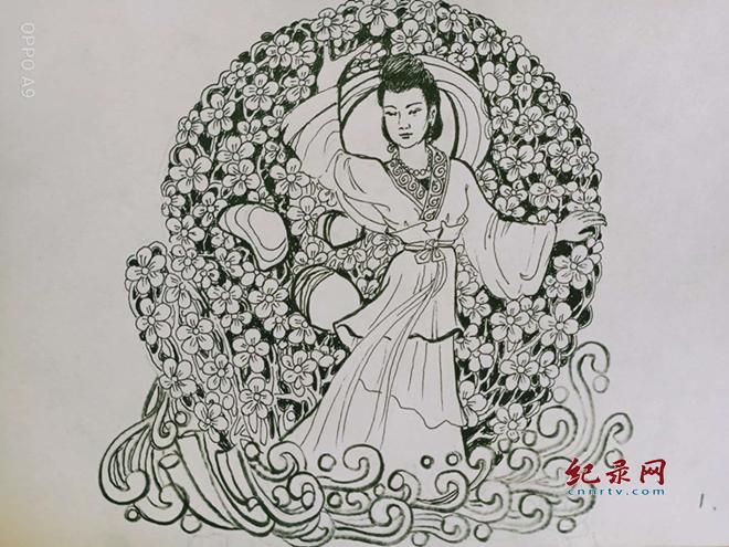 魏孔连连环画—梨花仙子