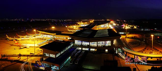 瞧!兰州中川国际机场忙碌的身影