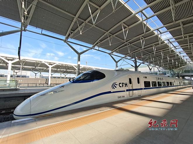 西银客专甘宁段时速275公里试验圆满完成