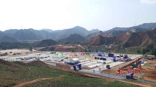 兰州水墨丹霞旅游景区内测试运营启动