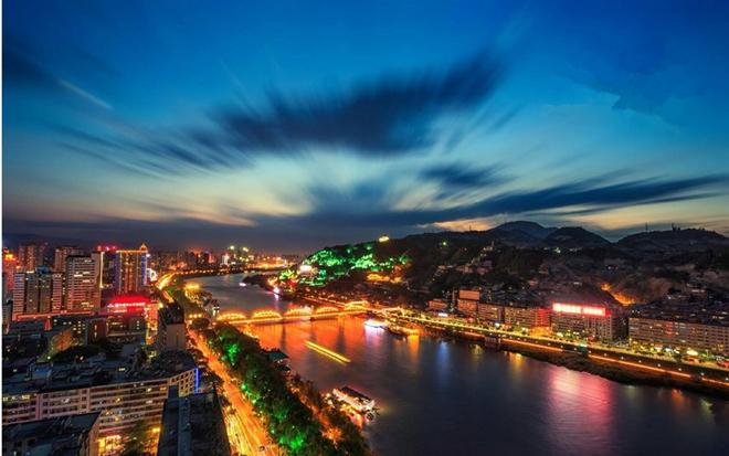 夜金城美不胜收 兰州成功入围2020年度中国夜游名城候选名