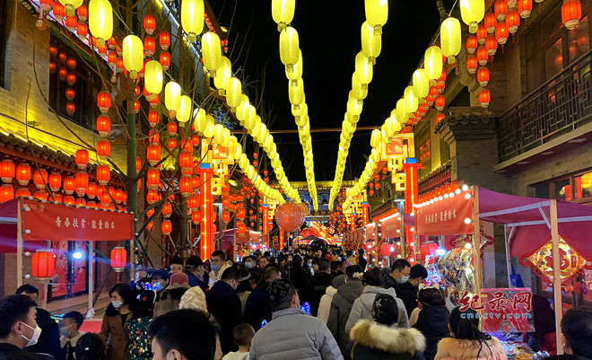 春节期间 兰州市接待游客313.65万人次