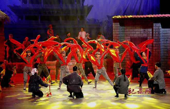 红色题材音乐剧《焉支花开》 重温红色记忆 礼赞革命先烈